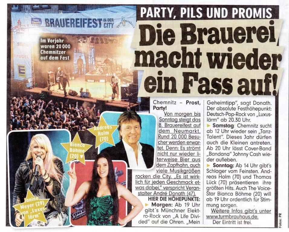 Andreas Holm - Die Erste Show Im All / Eine Rose Im Haar